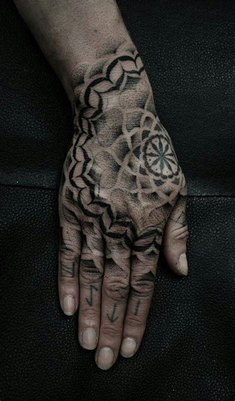 psychedelic hand tattoo tattoos eccentric nature