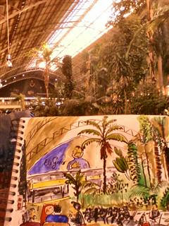 Estación de Atocha, Jardín Tropical. by a angel a
