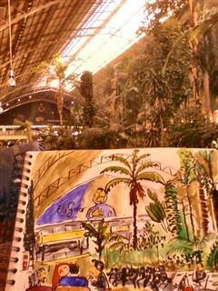 Estación de Atocha, Jardín Tropical. by a angel a