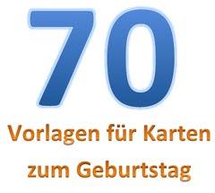 Geburtstagssprüche 70 Geburtstagssprüche Für Karten