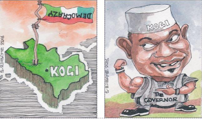Kogi's unending absurdities