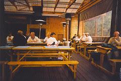Tsitsikamma - birdies on the table