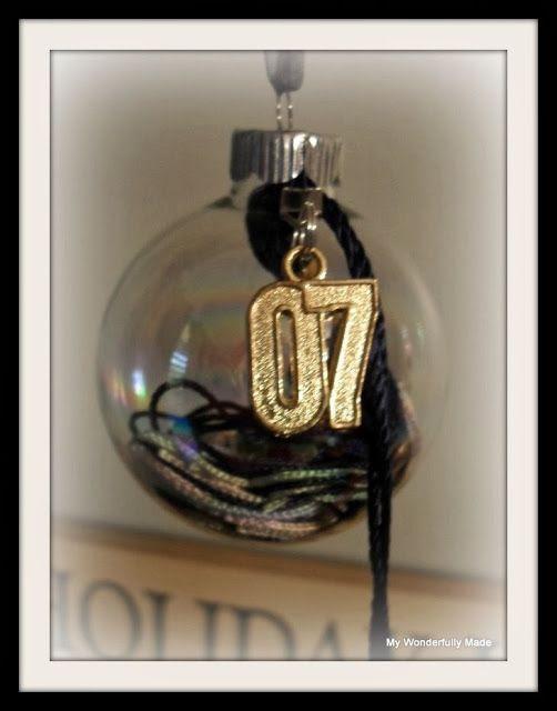"""Wonderfully Made"": Grad Tassel Ornaments"