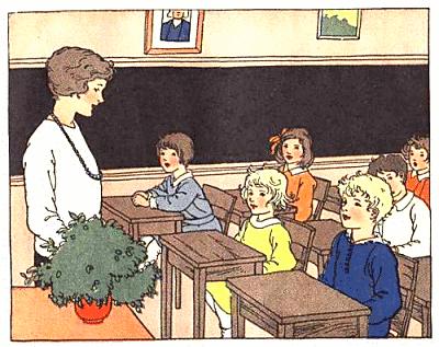 Free School Classroom Clipart