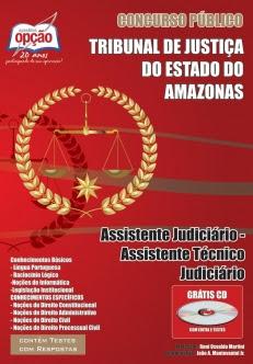 Tribunal de Justiça do Estado / Amazonas-ASSISTENTE JUDICIÁRIO / ASSISTENTE TÉCNICO JUDICIÁRIO