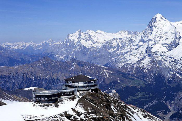 Piz Gloria in Mürren, Suiza