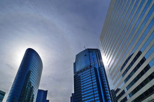Shinagawa buildings