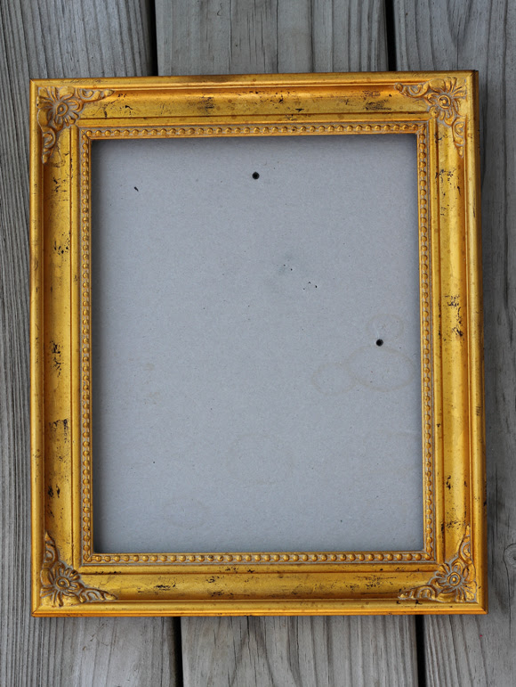 Diy Chalkboard Paint And Antique Frames