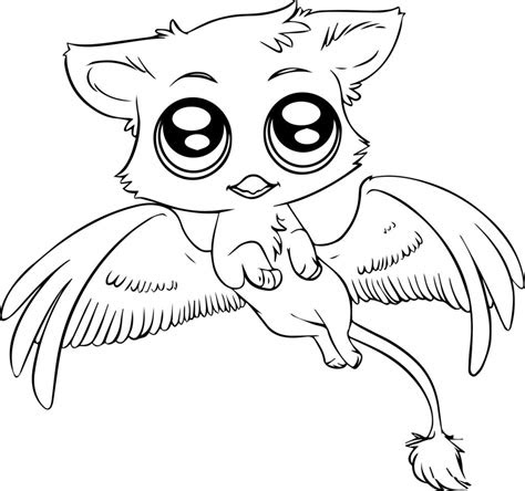coloring pages cute animal coloring pages  kids baby