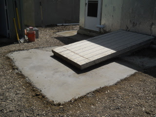 And Another Angle of Finished Concrete Footer