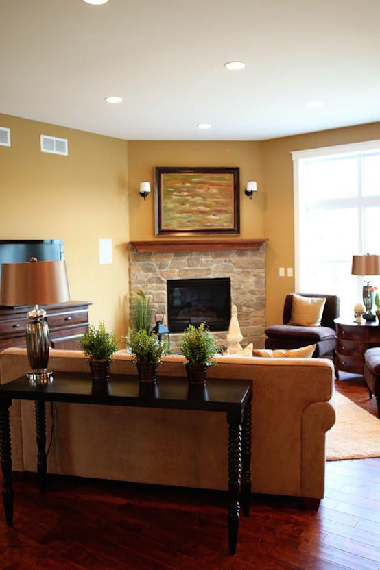 25 Corner Fireplace Living Room Ideas You'll Love