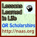 Lessons Learned in Life Scholarships for Oregon students