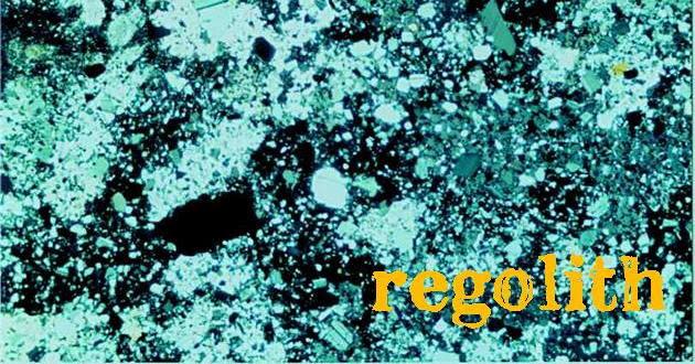 Regolith -- intro