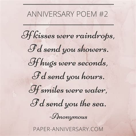 13 Beautiful Anniversary Poems to Inspire   Anniversary