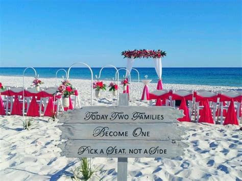 affordable destin florida beach wedding packages