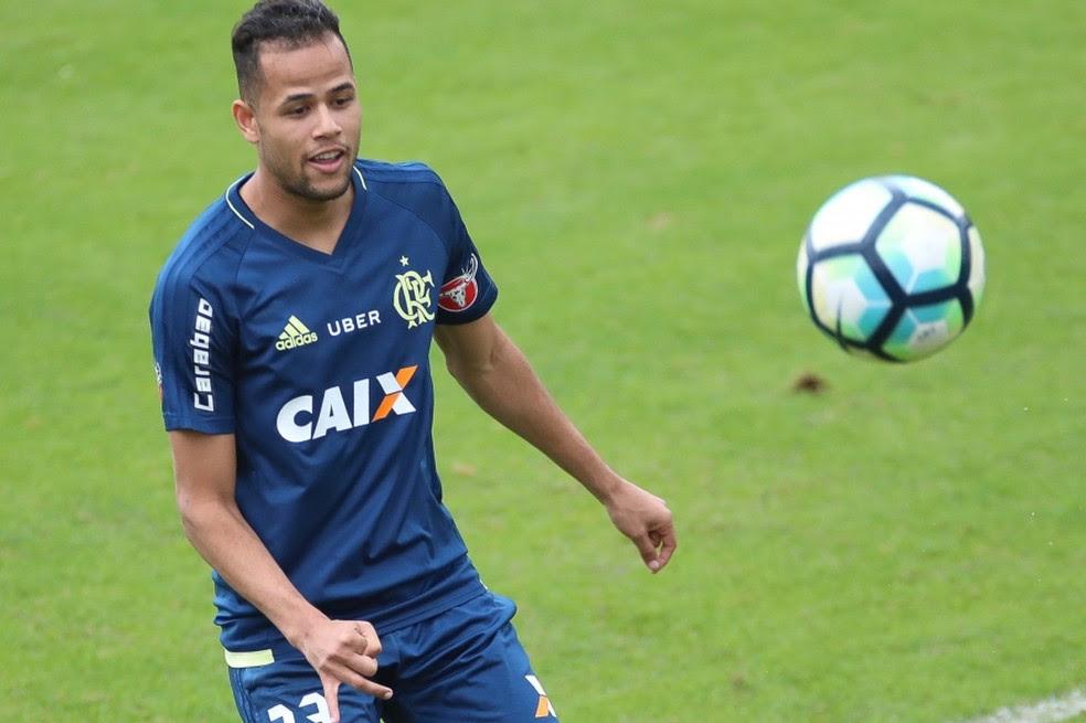 Geuvânio Flamengo (Foto: Gilvan de Souza/Flamengo)