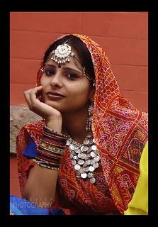 A LADY OF MADHYA PRADESH