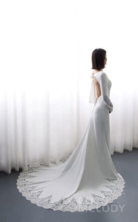 Best 25  Open back wedding dress ideas on Pinterest   Lace