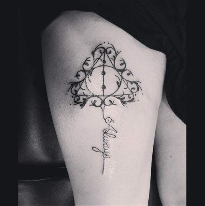 Harry Potter Increíbles Tatuajes De La Saga Sólo Aptos Para Los