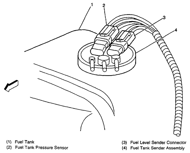 35 2000 Chevy Blazer Gas Tank Diagram