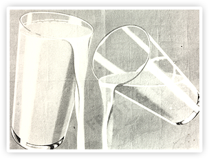 The 'Glass and a Half' symbol. This was originally used in 1928 on press and posters.
