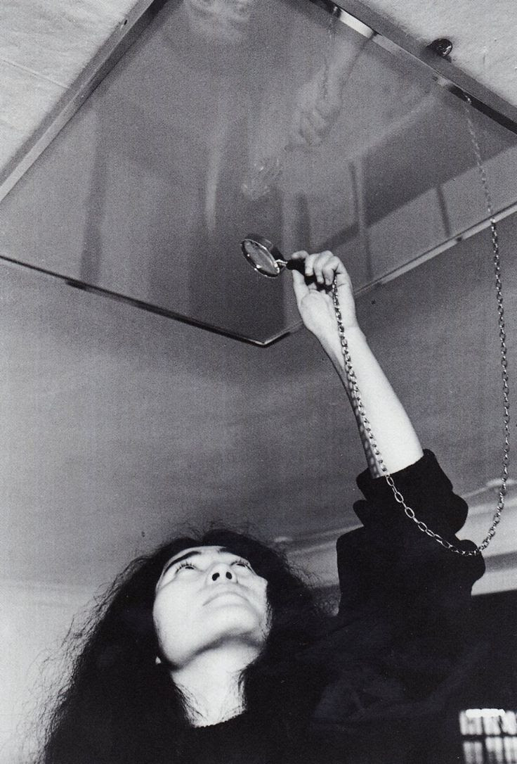 Yoko Ono - Ceiling Painting (Yes Painting), 1966. ☀
