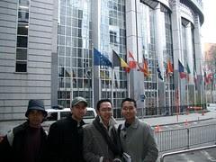 European Union Parliament Quarter, Brussels, Belgium