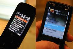LG KG810 vs Nokia N73
