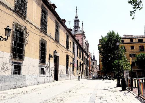 Plaza de las Comendadoras. Madrid