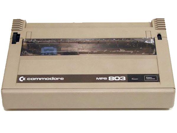 Commodore MPS803