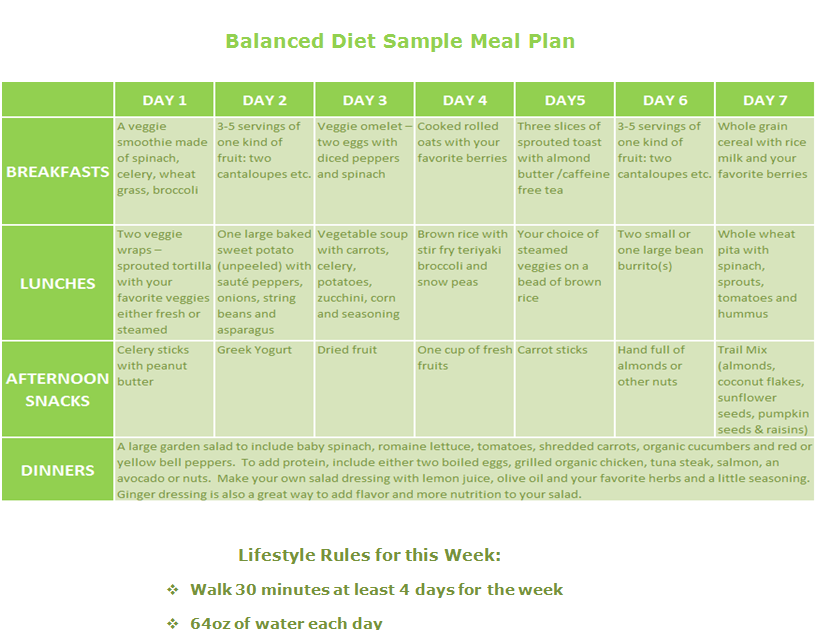 30 Day Shed And Shred Meal Plan Anakshed
