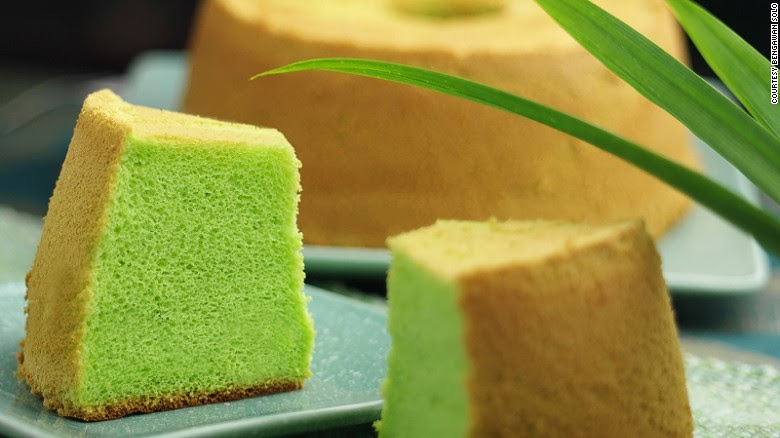 Pandan Cake. Image: CNN