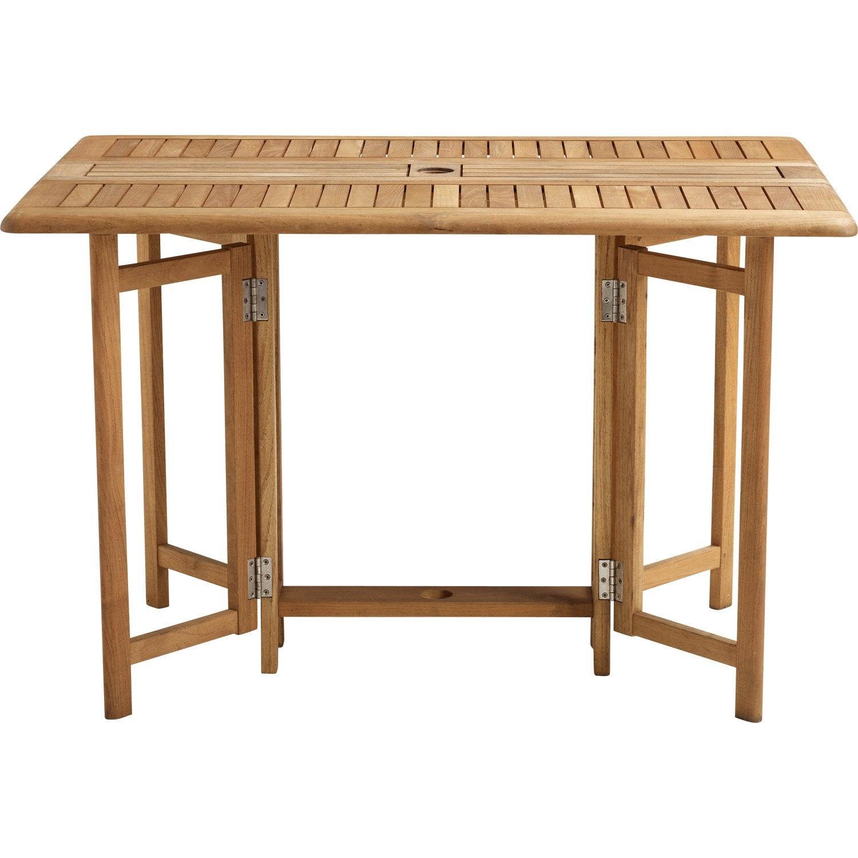 Table et chaises de terrasse: Table de jardin chez leclerc