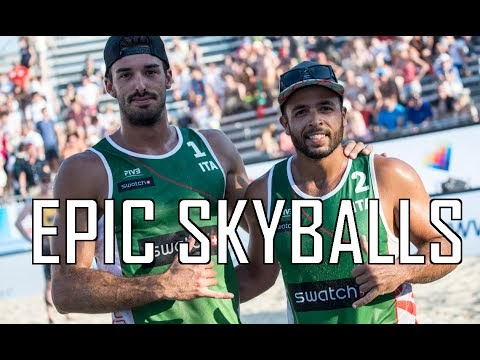 Italy's Adrian Carambula has the BEST volleyball serve
