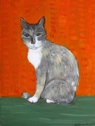 paintings of the catofstripes