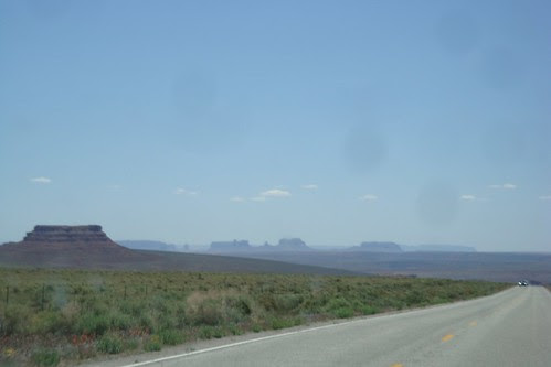 Monument Valley in the distance