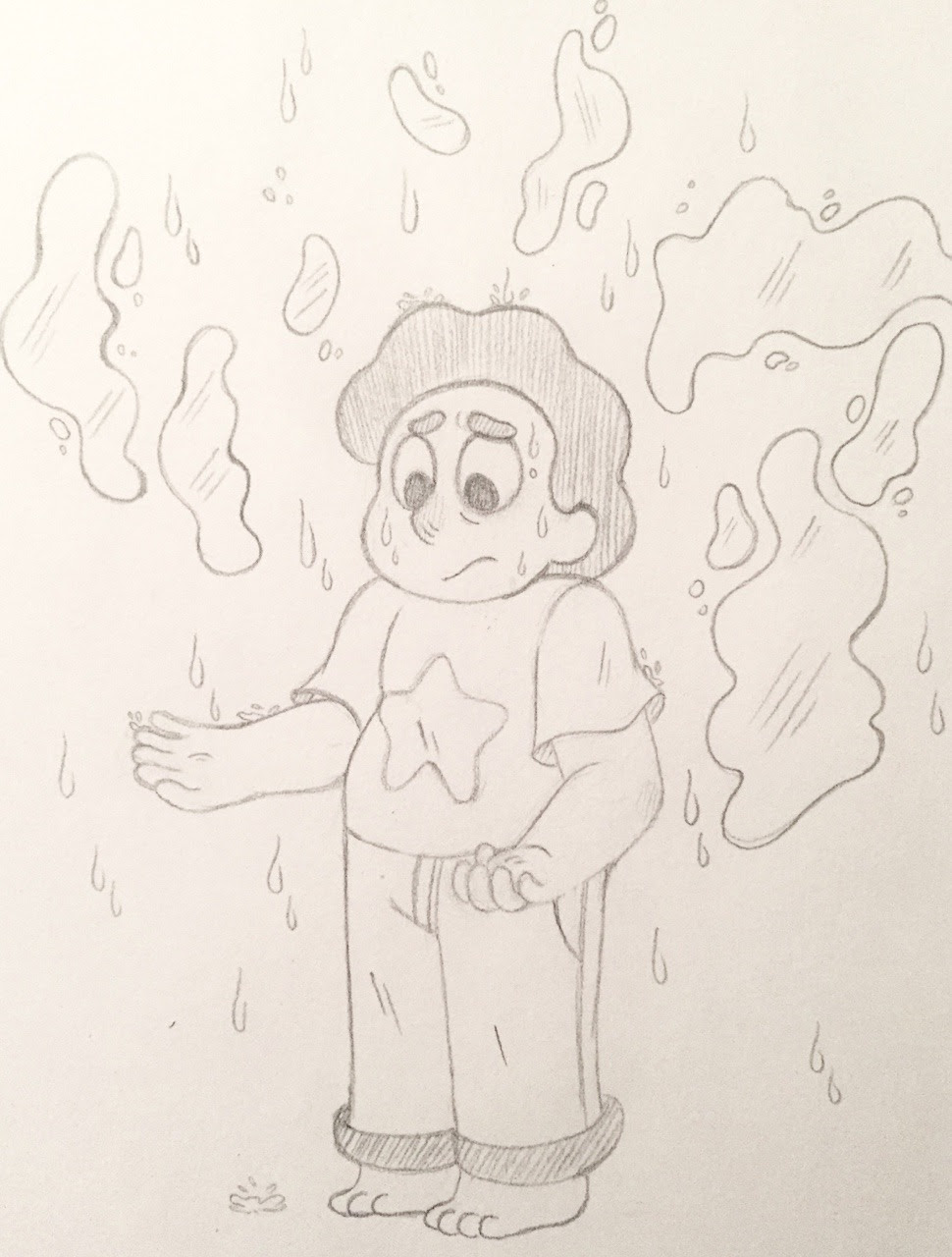 I'll draw a happy Steven later to make up for this but my poor son is just so sad and I just wanna hug so bad…