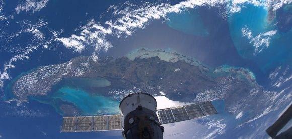 Cuba vista desde el cosmos.