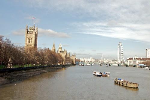 Westminster from Vauxhall Bridge