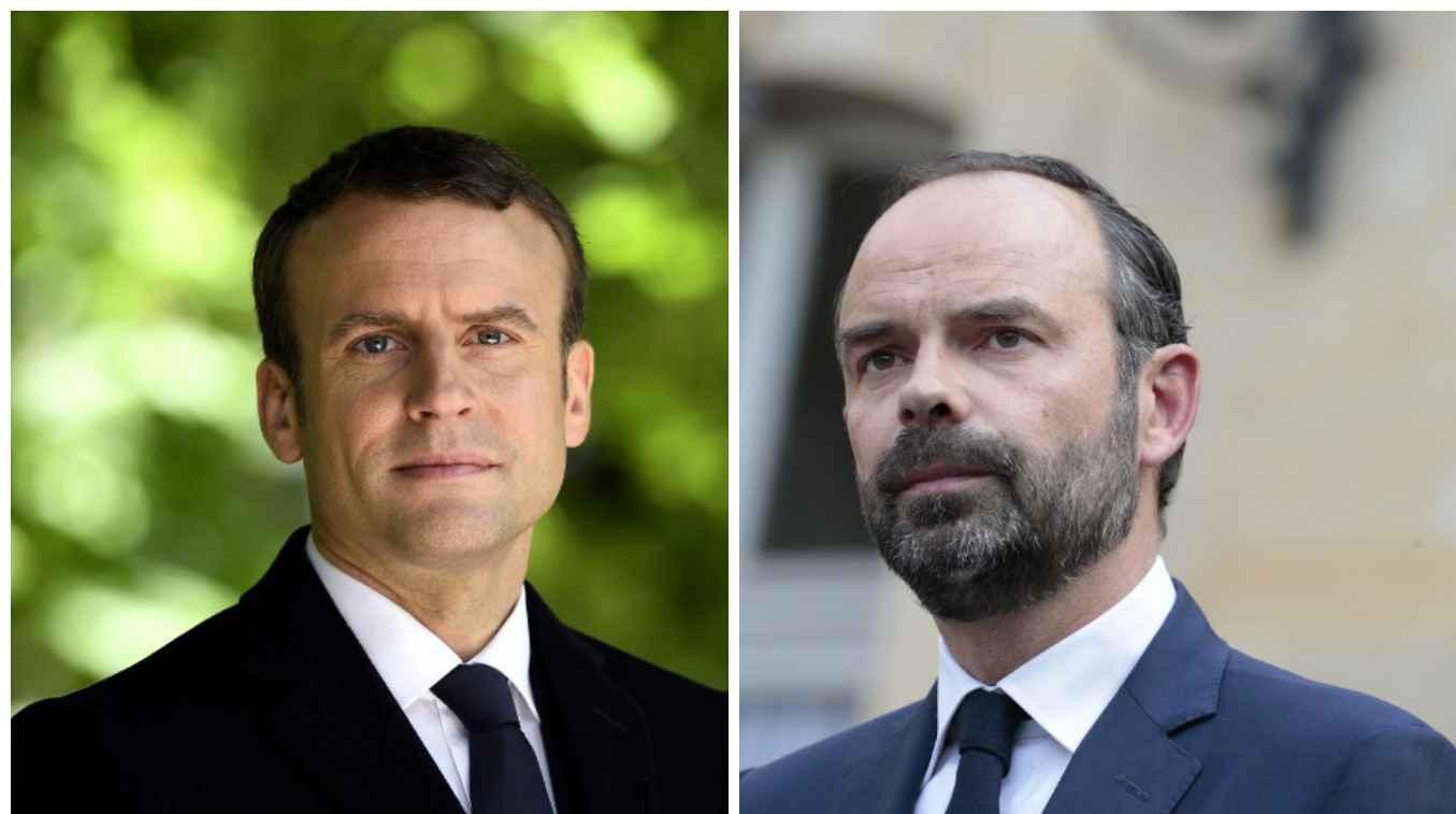 """Résultat de recherche d'images pour """"Edouard Philippe Macron"""""""