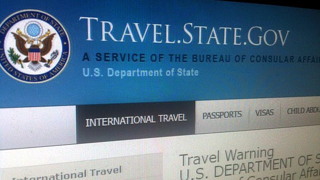 Travel Warning USA
