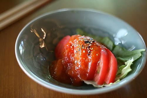 Hiyashi Tomato - Chilled Tomato