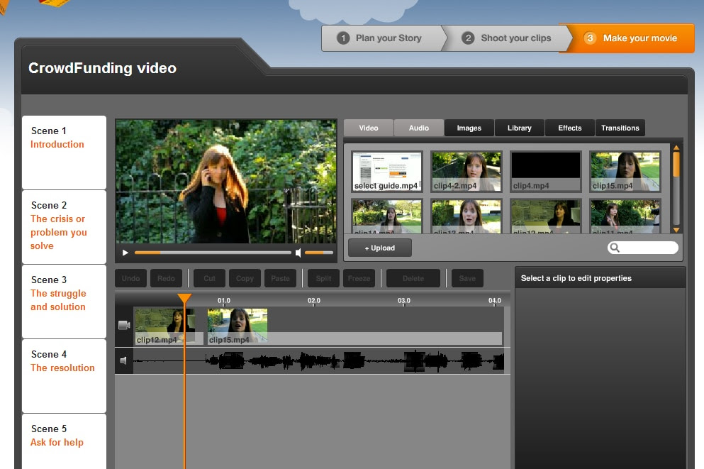 online video editor