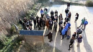 Visita dels eurodiputats al delta de l'Ebre