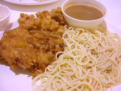 Close up of Chicken Chop