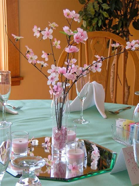 pink and brown cherry blossom wedding   Google Search