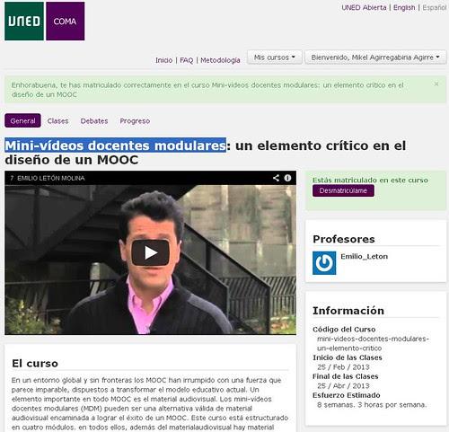 Mini-vídeos docentes modulares
