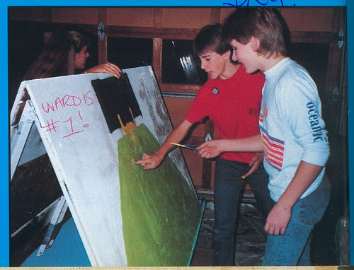 1984: Float making party 1