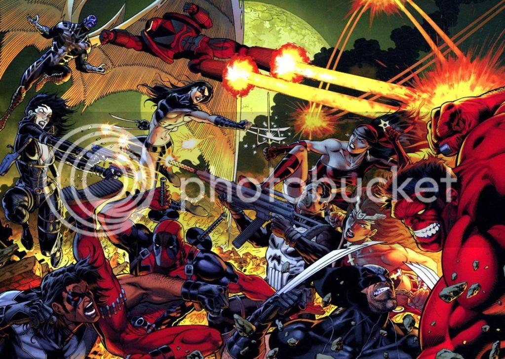 Rulk vs X-Force