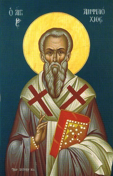 ST. AMPHILOCHIUS, Bishop of Iconium